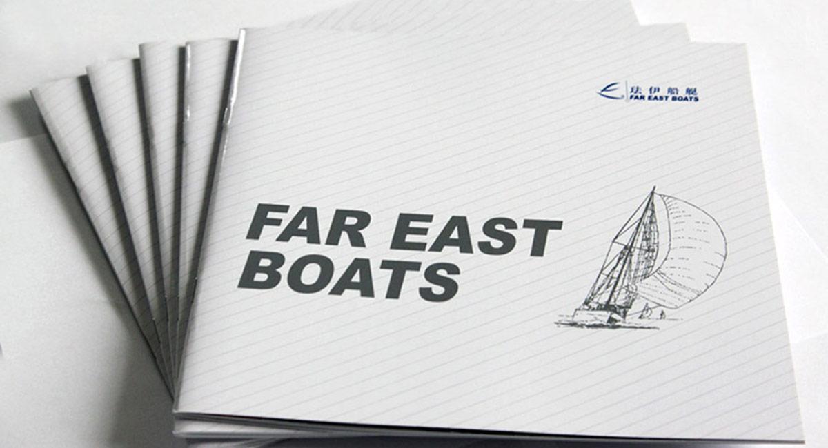 帆船画册设计
