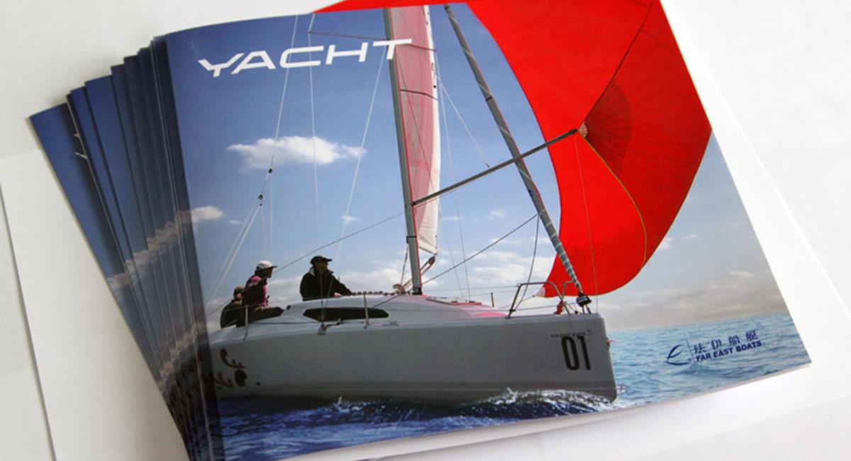 帆船画册案例
